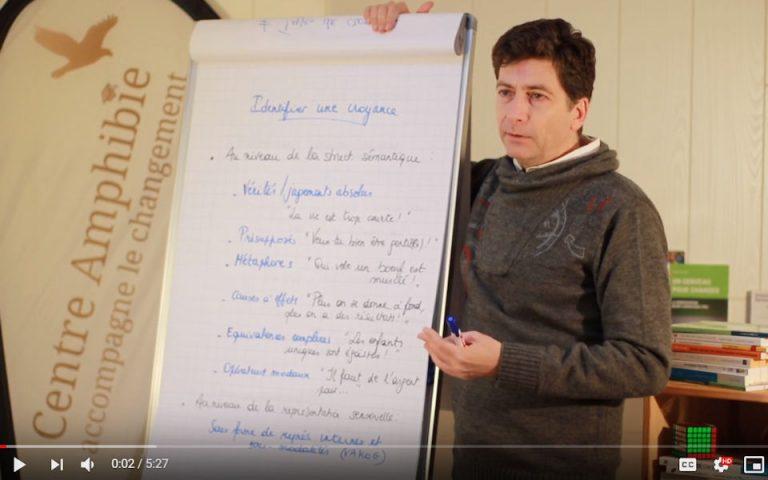Croyances et définition de la PNL (video)
